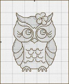 For my nieces Cross Stitch Owl, Cross Stitch Animals, Cross Stitching, Cross Stitch Embroidery, Cross Stitch Patterns, Owl Crochet Patterns, Owl Patterns, Embroidery Patterns, Crocodile Stitch