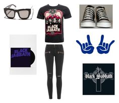 """Black sabbath"" by danielle-bff-renee on Polyvore featuring VALLEY and Paige Denim"