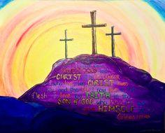"""Crucified"" (c) Michelle Bentham 2016."