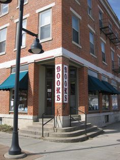 The Haunted Bookshop, Iowa City, IA. Can't imagine a trip to Iowa City without stopping in here! http://www.thehauntedbookshop.com/shop/haunted/index.html