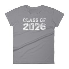 a2b83fb65af Women s Class of 2026 t-shirt - Back to school gift Class Of 2020