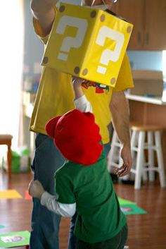 Lots of great Mario party ideas and games.