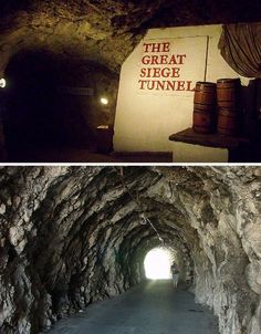 Fascinating tour of the World War II Tunnels in the Rock of Gibraltar