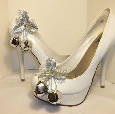 Jingle Bells  Shoe Clips Christmas Shoe Clips by ShoeClipsOnly, $18.00