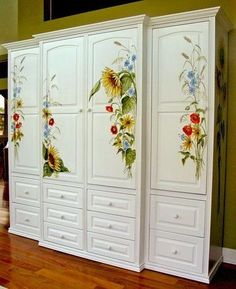 bemalen Super Ideas Painted Furniture Colors Chalk ACL Rehab For Active Adults - The First 2 Wee Decoupage Furniture, Hand Painted Furniture, Refurbished Furniture, Ikea Furniture, Colorful Furniture, Paint Furniture, Repurposed Furniture, Shabby Chic Furniture, Furniture Makeover