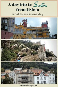 A day trip to Sintra from Lisbon. what to see in one day. la carte vintage