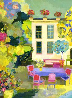 kimberly hodges - Provence Summer Garden