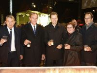 The show was opened by Burkhard Jung, Oliver Bierhoff and Wolfgang Niersbach.