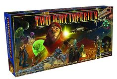 Twilight Imperium 3rd Edition. The new design features faster gameplay, and involves players in a far more active game experience with much less down-time. In addition, TI3 will include the new Race Cards, as well a dramatic new approach to the structure of the gameplay itself using the new Command system. Are you ready for another age of Twilight?