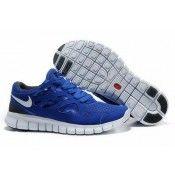 Nike Free Run 2 Men's Running Shoe Royal/White-Grey