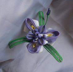 Iris (Ayame) Kanzashi