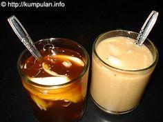 bajigur - bandrek... dynamic duo on traditional beverages in Bandung..