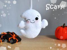 Ornement de Halloween décoration fantôme mignon par MyMagicFelt
