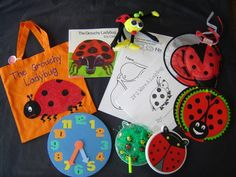 Grouchy Ladybug literacy bag Literacy Bags, Education And Literacy, Preschool Literacy, Literacy Activities, Literacy Centers, Kindergarten, Grouchy Ladybug, Preschool Programs, Book Bags