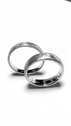 Braided Wedding Band Silver Wedding Ring Set Wheat Wedding Bands