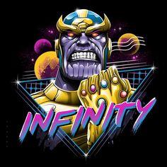 Marvel Comics Thanos Infinity T-Shirt Marvel Vs, Marvel Comics, Marvel Cartoons, Thanos Marvel, Arte Alien, Infinity Art, Arte Horror, Retro Art, Modern Retro