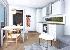 Kara-hirsimökit –Salvos Cabinet, Storage, Table, Furniture, Home Decor, Clothes Stand, Purse Storage, Decoration Home, Room Decor