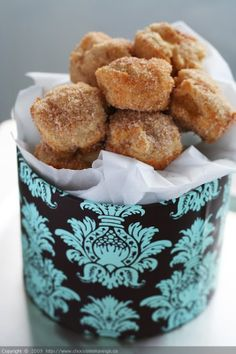 Baked Apple doughnut bites