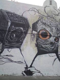 Village Underground - Converse - London Street Art by londonstreetart2