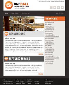 Construction Services, Email Templates, Page Layout, Property Management, Portfolio Design, Lorem Ipsum, Plumbing, Portfolio Design Layouts, Layout Design