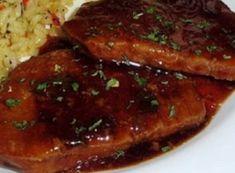 Recette : Côtelettes de porc à la chinoise.