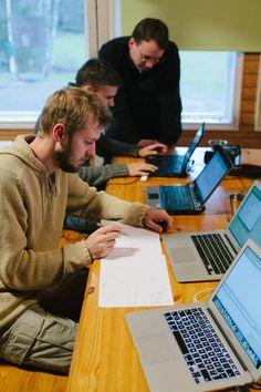 Solitan historian ensimmäinen Code Camp pidettiin 16. marraskuuta 2012. Kokemuksia ja tunnelmia voit lukea täältä: http://dev.solita.fi/2012/11/23/codecamp.html