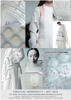 Trend forecasting 2018 white on white