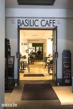 Basilic cafe, Lille, France