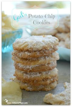 Gail's Potato Chip Cookies - get the recipe for these incredibly delicious cookies at www.tootsweet4two.com.