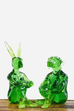 Gillie & Marc Sculptures - Green