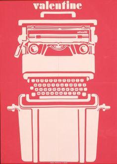 Olivetti valentine graphic