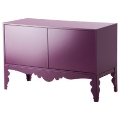 Whyyyy don't US Ikeas carry this line??? I wish I could go to Europe just to buy this collection.  TROLLSTA Sideboard - lilac - IKEA
