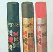 Impulse body spray. Black...Incense, Brown/Gold...Merely Musk & not sure of the other? Does anyone remember?