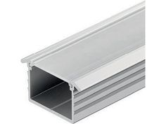 Aluminium profile, recess mounting for all under wall unit  lights