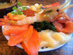 ข้าวหน้าทะเล 海鮮丼@ที่ฮอกไกโด 札幌