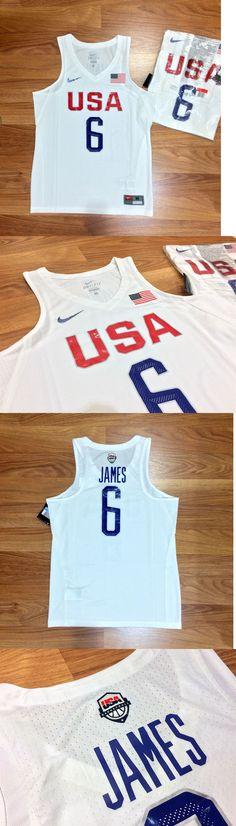 a7dbac1ebc97 Basketball-Other 205  New 2016 Nike Usa Basketball Lebron James Game Jersey  Olympic Fiba
