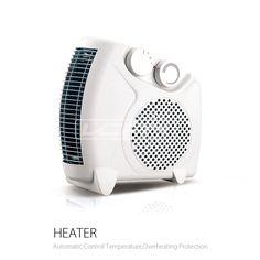 Swing electric ceramic tower fan heater High temperature mica electrical air blower heater