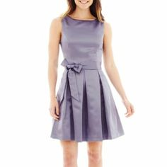 I found this sears. What a simple bridesmaid dress