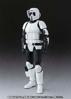 Star Wars S.H. Figuarts Scout Trooper and Speeder Bike Action Figure Star Wars Toys, Star Wars Art, Star Wars Spaceships, Imperial Army, Star Wars Images, Clone Trooper, Star Wars Characters, Action Figures, Star Wars