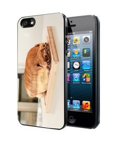 Pug Loaf of Bread Cute Funny iPhone 4 4S 5 5S 5C Case