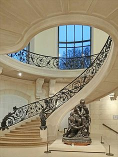 Quite the staircase