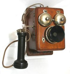 Early Telephone (actually invented 1876)