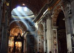Basílica de San Pedro en la Ciudad del Vaticano en Roma