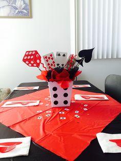 Centerprice Casino Theme Parties, Casino Party, Casino Night, Balloon Decorations, Birthday Decorations, Birthday Party Themes, Poker Party, Harlem Nights, 30th Party