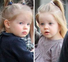 Lisa Marie Presley twins  Finley and Harper born Oct 2008. Their grandfather was also a twin. Elvis' twin brother Jesse was stillborn.