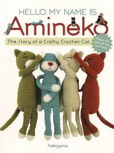 Just got this book a couple weeks ago and now I'm making aminekos like crazy. Amineko for each of my kittehs! Love my cats.
