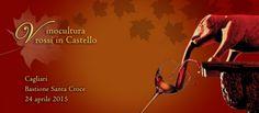 VINOCULTURA – ROSSI IN CASTELLO -BASTIONE S.CROCE – CAGLIARI – VENERDI 24 APRILE 2015