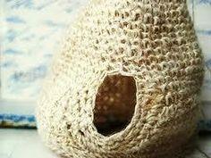 Aprendiz de Crocheteiras: Casa de Passarinho - Natureza & Crochê