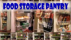 Food Storage Pantry - Home storage and emergency preparedness are simple ways for families, friends and communities to prepare today for what you or someone else will need tomorrow.   http://nursehealer.com
