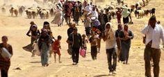 Las personas huyendo para liberarse de los atentados . (JAHINARA6A)